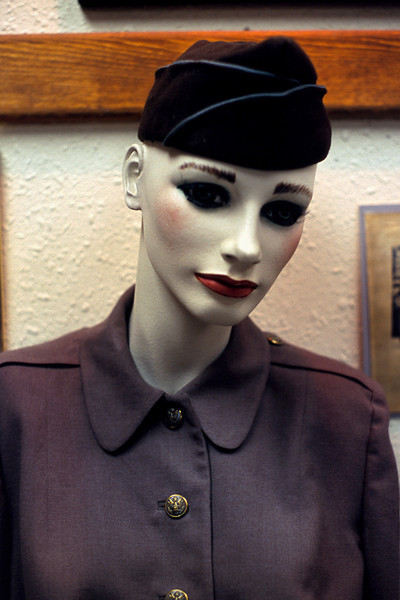 Museum mannequin, Gallup, New Mexico, 2003