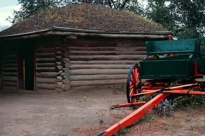 Navajo Tribal Museum near Window Rock, Arizona, October, 2003.