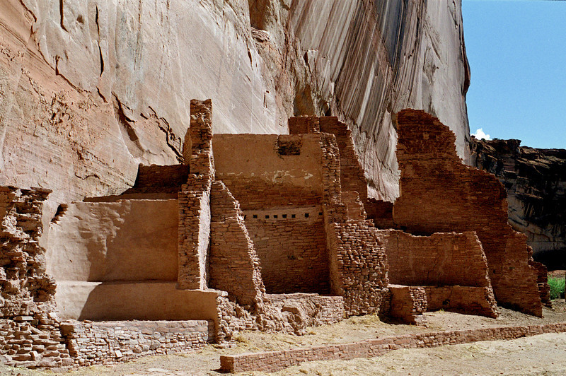 White House Ruins, Canyon de Chelly, Arizona. October, 2003.