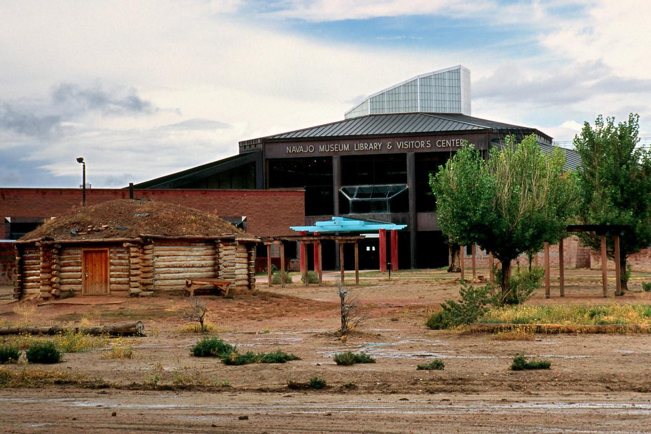 Navajo Tribal Museum, Window Rock, AZ, October, 2003