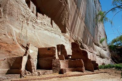 White House Ruin, Canyon de Chelly, Arizona. October, 2003.