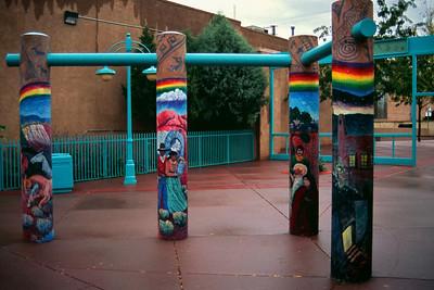 City park, Gallup, New Mexico, October 2003