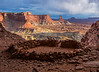 False Kiva.  Canyonlands National Park, Utah.  8980