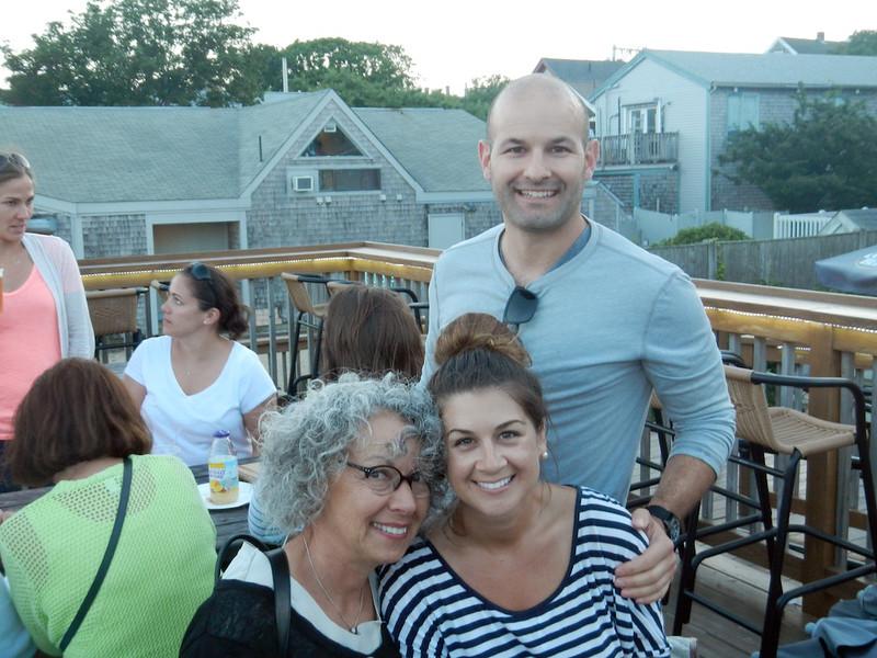 Joe with Joyce and Em