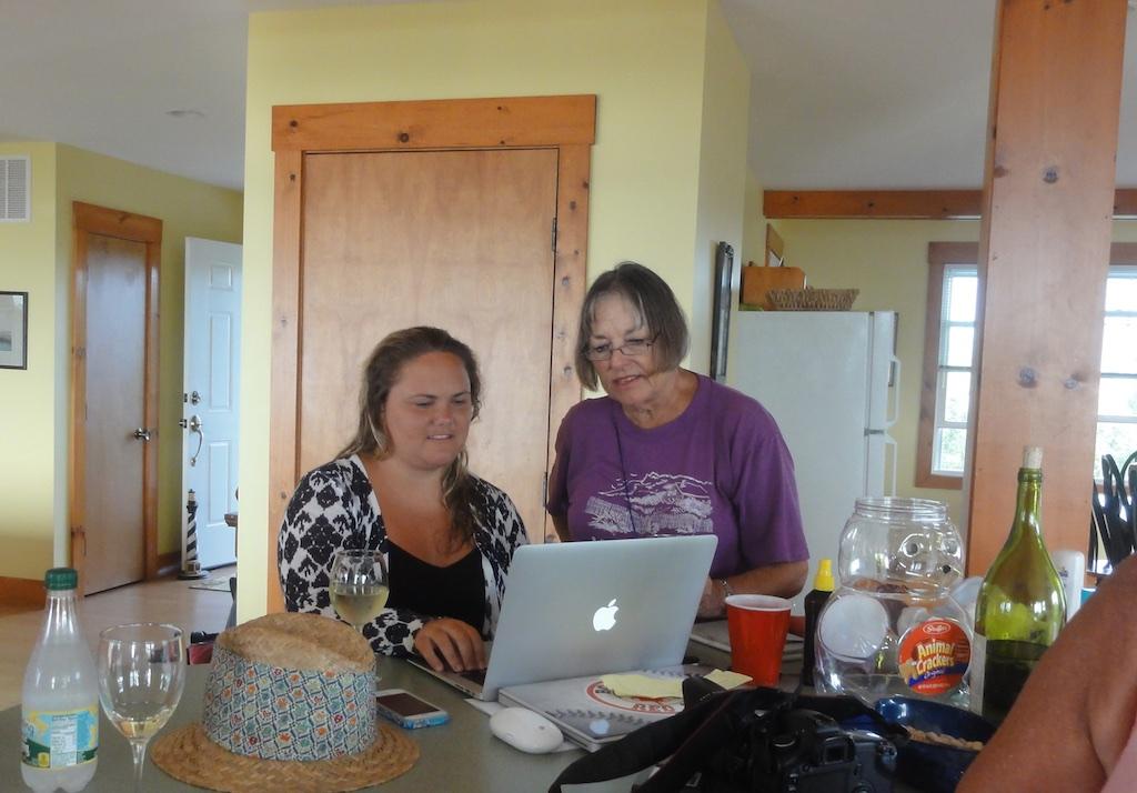 Linda and Sonia