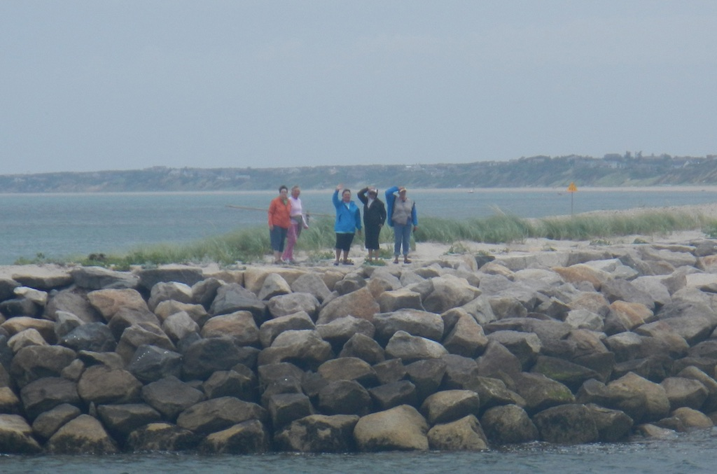 Aliens on the North Jetty
