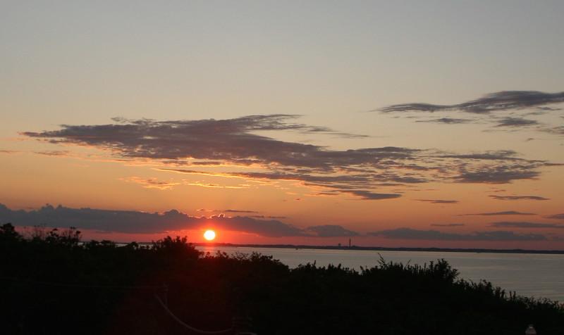 Sunset Aug 9 2