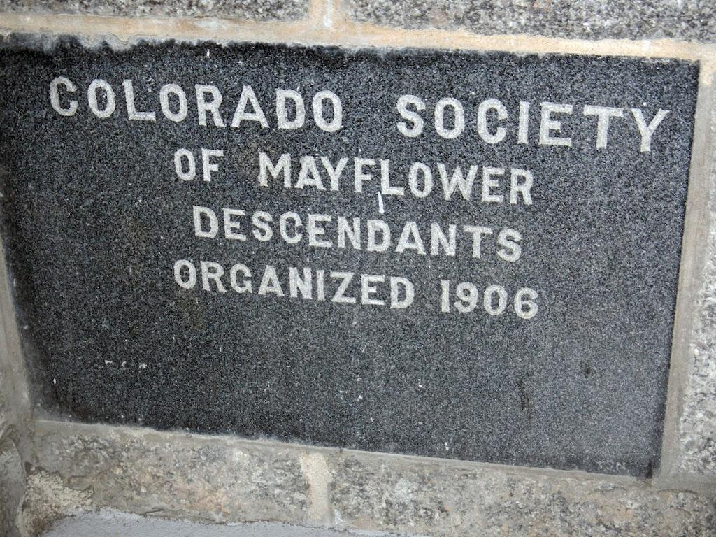 Colorado Plaque in P'Town Monument