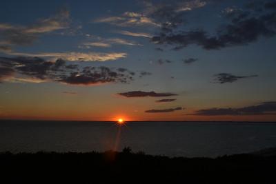 Sunset August 10