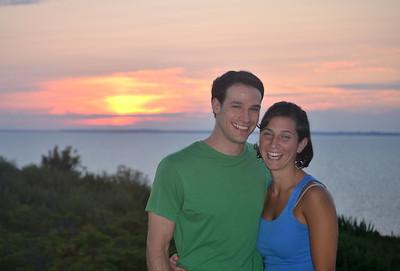 Sarah & Zak at Sunset