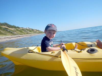 Eamon Kayaking