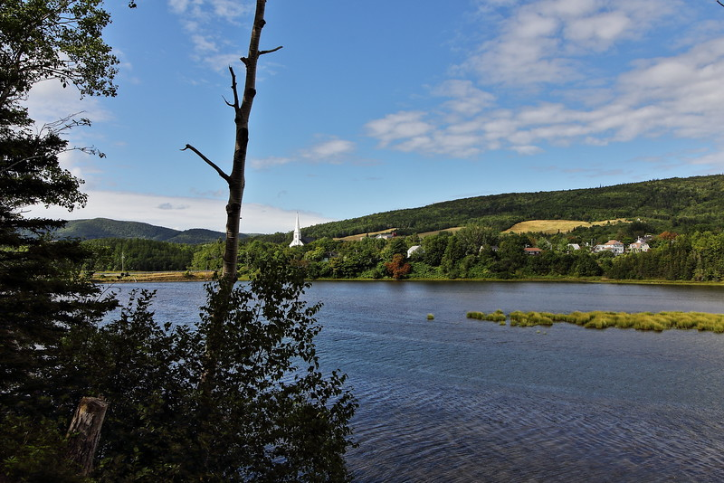Along the Mabou River.