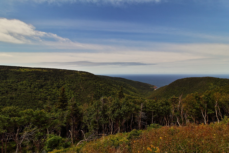 Along the Cabot Trail, Cape Breton Highlands.