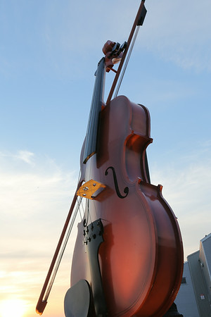 World Largest Fiddle in Sydney, Nova Scotia