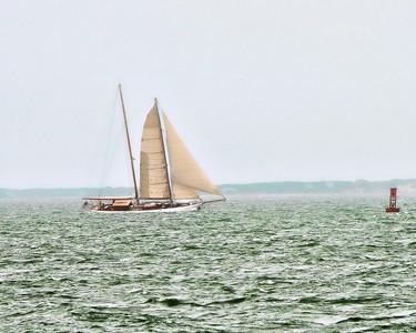Sail Boat, Ocean