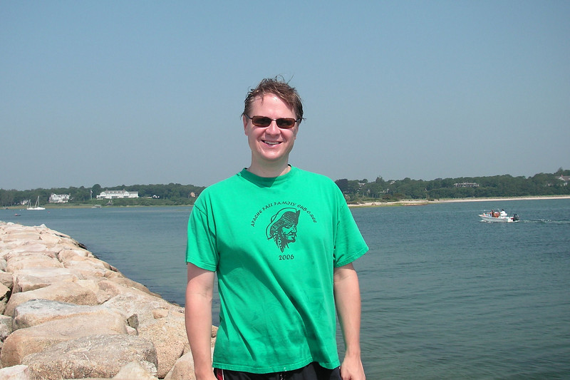 Scott at Dowses Beach