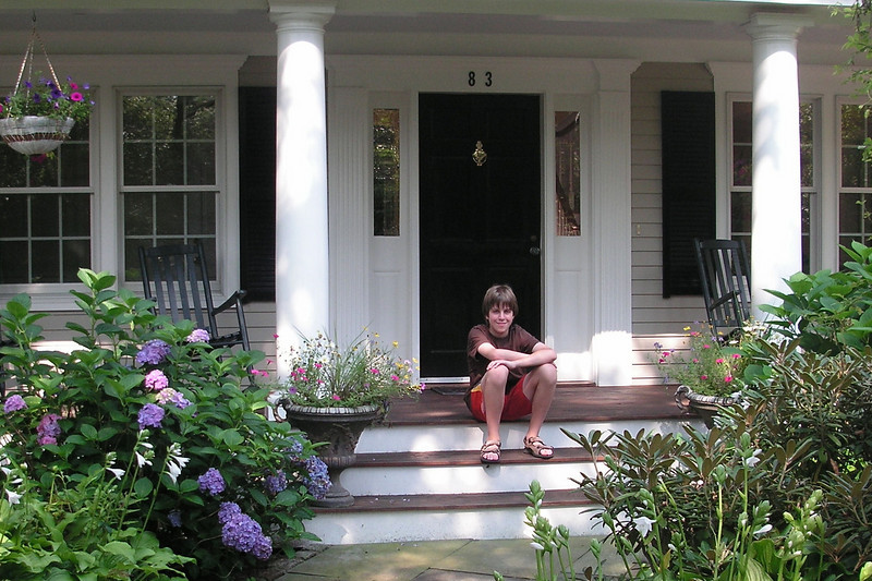 Jacob - Front porch of Laura & Peter's House