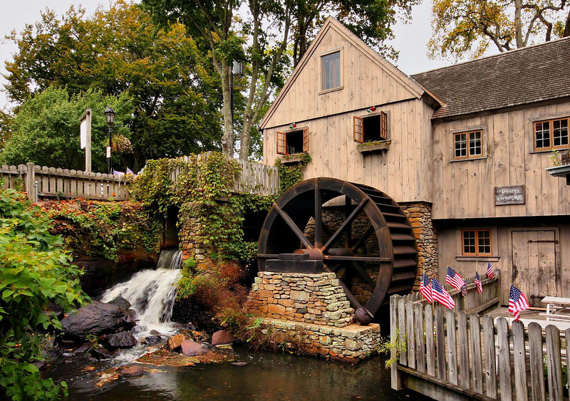 Jenney Grist Mill, Plymouth, Mass.
