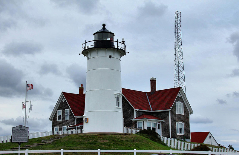 Nobska Lighthouse, Woods Hole, Mass.