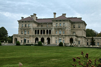 The Vanderbilt Mansion known as the Breakers, one of the most ornate mansions in the U.S. and inspired by the Palace at Versailles, France.