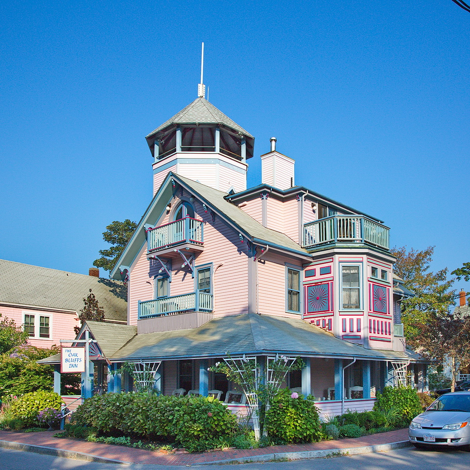 854 Oak Bluffs Inn in Oak Bluffs on Martha's Vineyard.