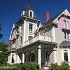 The Painted Lady Bed and Breakfast, in the town of Sandwich, Cape Cod, Massachusetts