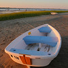 A boat on Millway Beach, Barnstable, Cape Cod, Massachsuetts