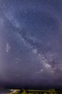 Milky Way over Kalmet beach