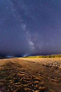 Milky Way over Nantucket Sound