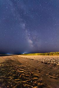 Milky Way over Nantucket Sound