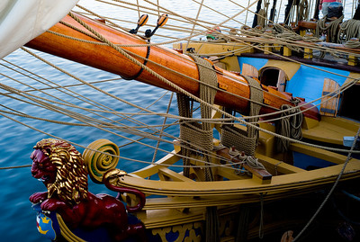 bowsprit, tall ship , P town-1011219