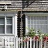 Detail of a house in Provincetown, Massachusetts, USA