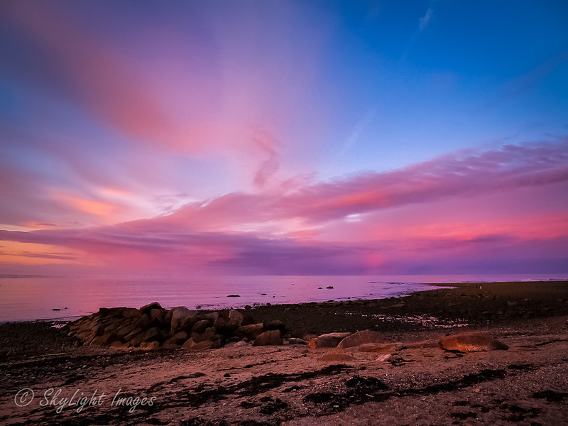 Evening colors along the Cape