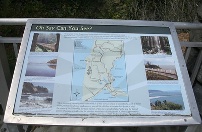 Map: Cape Disappointment State Park and Lewis and Clark National Park
