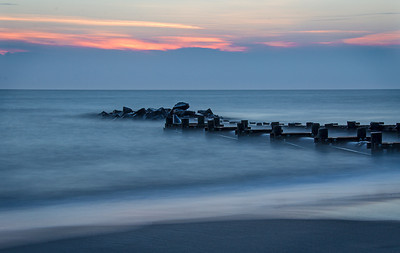 Delaware Bay (30 second exposure, f20, ISO 100 with two 8-stop ND filters stacked)