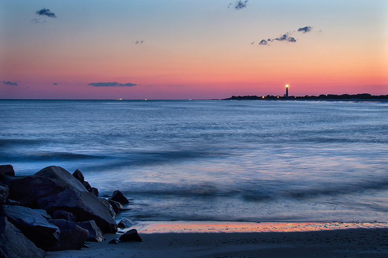 Cape May Lighthouse at Dusk
