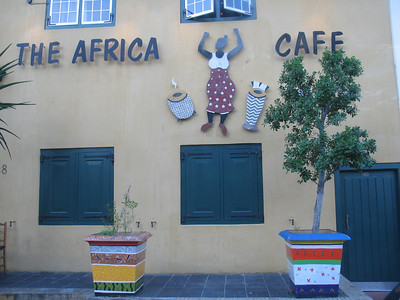 Our farewell dinner took place here at the first restaurant owned by a Black African after Apartheid ended in Cape Town.