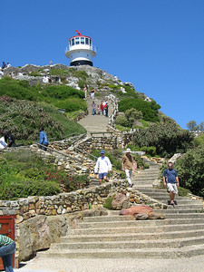 Yep, it's a lighthouse at the top of a mountain.