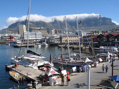 Day 1 in Cape Town we spent at the V&A Waterfront near the hotel.  Very tough to capture on film.