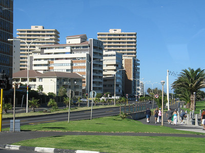 SeaPoint neighborhood in Cape Town.