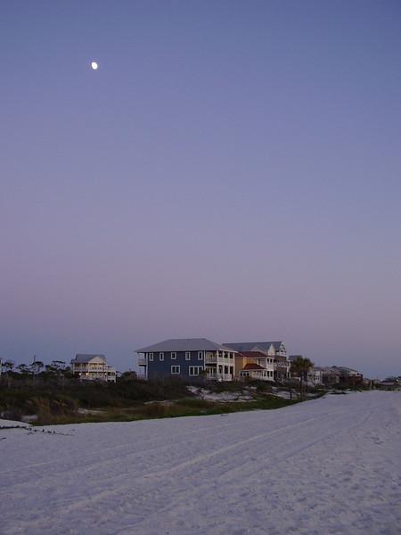 Cape San Blas under the moon.