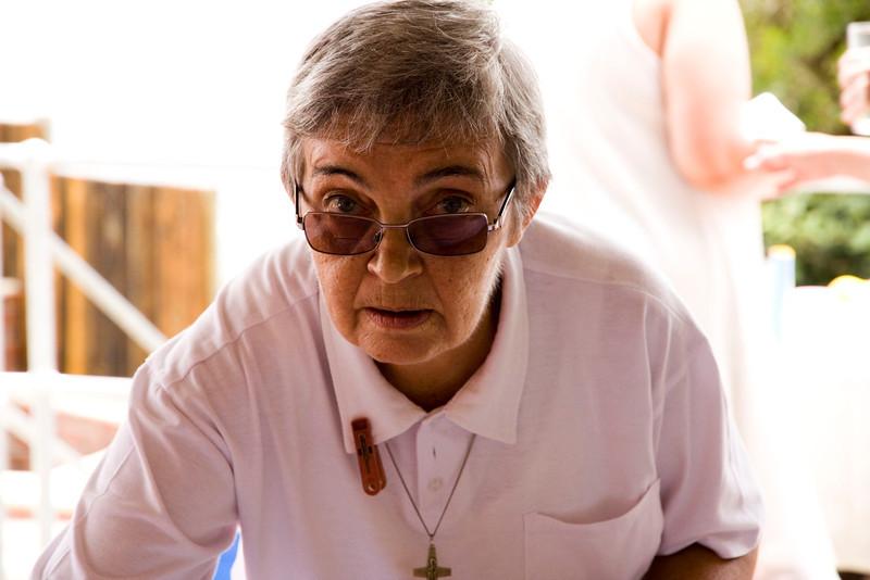 Ilda's aunt, Sister Teresa.