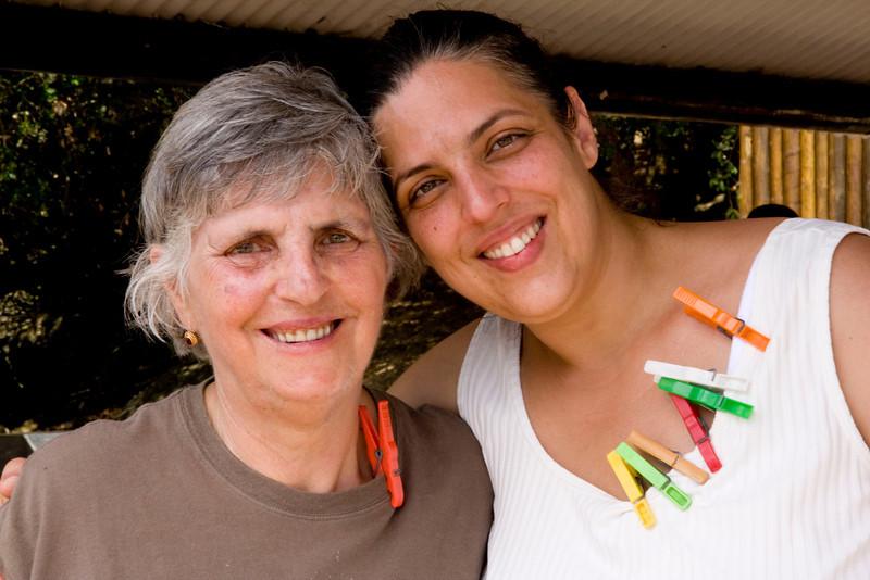 Ilda's mom & sister Luisa.