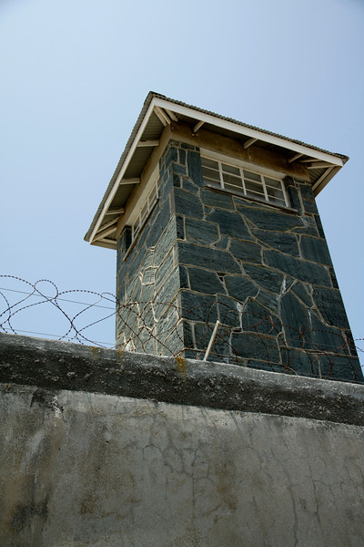 Robben Island, where Nelson Mandela and other political prisoners were held until 1994.
