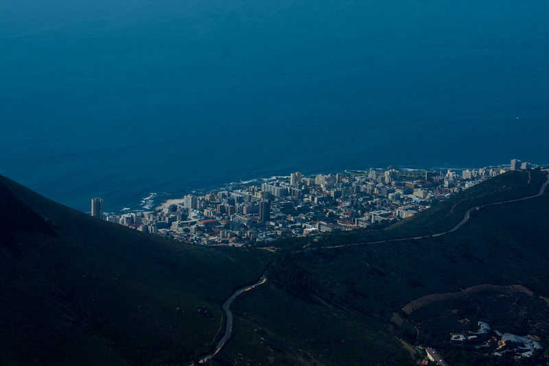 City of Cape Town from Table Mountain.