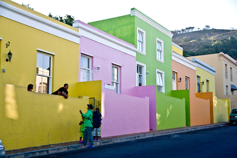 Bo-Kaap neighborhood of Cape Town.