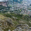 20190514-171 Cape Town Table Mtn, Cable Car down, Da Waal Park Higgovale and gardens view