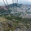 20190514-167 Cape Town Table Mtn, Cable Car down, Lions HEad on left, Lions Rump and V & A Waterfront