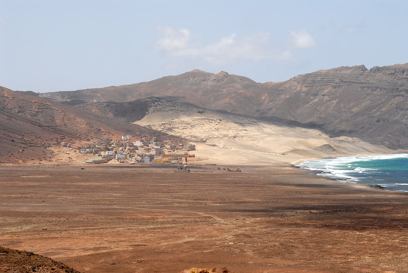 Salamansa village and beach