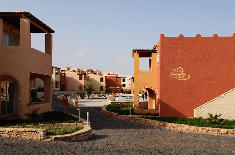 Club Venta resort, Boa Vista: guest accommodation and one of the several swimming pools.